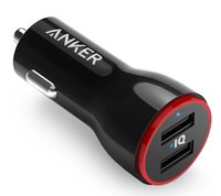 anker charger - anker A2310 PowerDrive The W and Port USB Car Charger