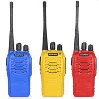 Wholesale 2PCS Baofeng BF S Walkie Talkie W Handheld Pofung bf s UHF W MHz CH Two Way Portable