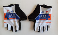 Wholesale 2016 team IAM cycling glove high quality anti shock half finger pro cycling gloves MTB road racing anti slip bike gloves size M XL