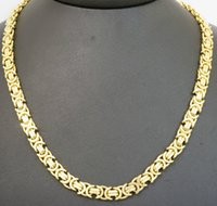 9ct gold - 9ct Yellow Gold quot Etruscan Link Chain Necklace mm Link