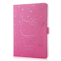 Cheap High Quality Cute Cartoon Kitty Cat Protect Case for iPad Mini 4 Smart Cover Stand More Colors Available Cheap Offer Factory Promote Price