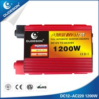 Wholesale 1200 car inverter off grid home system DC12v to AC220V car accessories