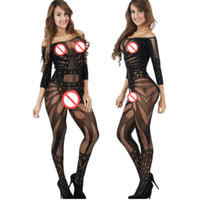Wholesale Sexy Underwear Costumes Sexy Lingerie intimates Kimono Sex products Hot Bodystockings Open Crotch women Teddies