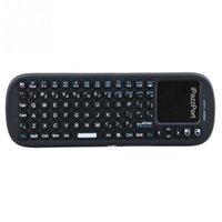 Wholesale iPazzPort Mini Handheld Wireless Keypad Bluetooth Keyboard Wireless Touchpad Scroll Bar for Smart TV Box Tablet