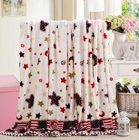 best design sofa - Best sellers luxury flannel blanket on sofa cartoon kids plaid warm fleece bedcover multi design