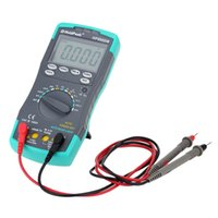Wholesale LED Highly Reliable HoldPeak HP DN Digital Multimeter DMM Voltage Current Meter Capacitance Tester Electrical Instruments