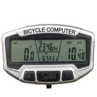 Wholesale Bike Cycling Touch Button LCD Backlight Waterproof Computer Stopwatch Bicycle Speedometer Odometer Functions