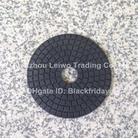 Wholesale Black Buff inch mm for Granite Marble Final Step Polishing Wheel Abrasive Buffing Tools Polishing Disc Pieces