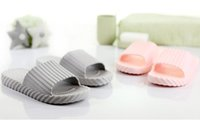 plastic slippers - In the summer of the new bathroom slippers both men and women lovers comfortable household plastic slippers
