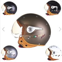 air force safety - Motorcycle ECE Safety Half Face Helmet Air Force for Haley BEON B