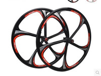 Wholesale 302 Bicycle rim inch Peilin bearing one wheel group magnesium alloy wheel disc brake set Cassette Hub