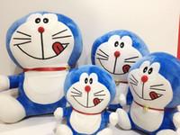 Wholesale Super soft velvet Cute Doraemon push toy Authentic guaranteed AffordableColor classification Classic kiss laugh to send love to send a gif