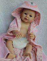 baby nurse training - 20 quot Lifelike Reborn Baby Bathing Girl Alive Full Silicone Washable Doll Toy Nursing Training Treats