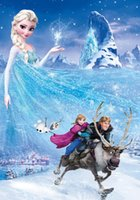 Wholesale 5x7ft Frozen theme Vinyl custom Photography Backdrops Prop Photo Studio Background BX