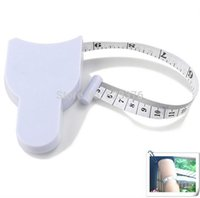 Wholesale DHL Freeshipping Accurate Diet Fitness Caliper Measuring Body Waist Tape Measurer