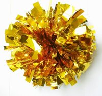 Wholesale Happy Christmas sports Game pompoms Cheering pom pom High quality Cheerleading supplies Color can choose newest Cheerleading