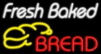 air bake - Fresh Baked Bread Neon Sign Pub Display Store Bar Bakery Sign Gift Avize Outdoor Nikke Air Jorrdan Signs Real Glass Tube quot X20 quot
