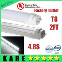 Wholesale IN stock ship FCC UL LED T8 Tube ft m W LM SMD Light Lamp Bulb feet V led lighting year warranty