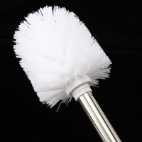Wholesale universal Not Vulnerable Stainless Steel Toilet Brush Head Holder Replacement Spare Hotel Kitchen WC Bathroom Clean Helper DIY