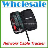 Wholesale Top Quality New Telephone Phone Network Cable Wire Line RJ Tracker Toner Tracer Tester with Bag Lots100