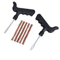 Wholesale set of Tools for Car Repair Equipment Tubeless Tire Repair Kit Tyre Puncture Plug Motorcycle Car Bike Auto for BMW Audi Vw