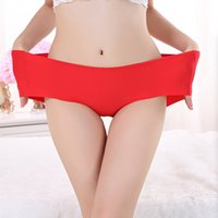 Cheap Wholesale-Hot Ice Sale Ice Silk Ultrathin Quick Dry One Piece Women Sexy Lace Seamless Panties Briefs Underwear Large Plus Size XXL XXXL#S