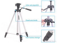 Wholesale 15pcs a bag WT A camera tripod telescope M lightweight tripod micro single DV digital camera card General pod with tripod bag