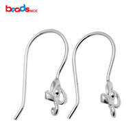 Wholesale In the new hot style and sexy Pure Silver wire earring Sterling Silver French Earring Wires unique design Earring