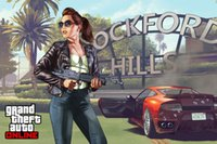 auto fabric paint - Grand Theft Auto V Art Silk Print Fabric Poster Game Hot GTA Images For Wall Decoration X60 CM