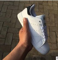 leather flat shoes - hot stan smith sneakers casual leather men s and women s sports running jogging shoes men fashion classic flats shoes