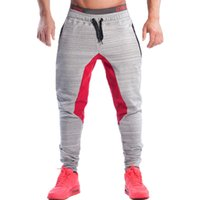 Wholesale Gym Clothing Brand Men Casual Sport Training Mens Pants Joggers Cotton Trousers Professional Bodybuilding Sweatpants Men