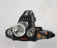 Wholesale HHA778 Hot Lumen T6 R5 Boruit Head Light Headlamp Outdoor Light Head Lamp HeadLight Rechargeable by x Battery Fishing Camping