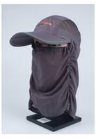 baseball cap brim material - Summer Cotton Quick Drying Material Sun UV Protection Travel Anti mosquito Parcel Cap Baseball Hat