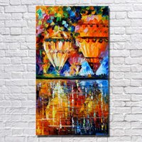 Oil Painting balloon wall framing - Large Canvas Art Cheap Fire Balloon Pictures Wall Art Home Decoration High Quality Oil Painting Decorative No Framed