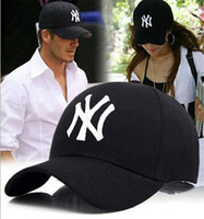 Wholesale Yankees Good quality line for baseball New York NY cap hat Cotton Spring Summer Fall Woman Man Fashion Design