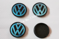 badges cars - New mm VW Volkswagen Wheel Center Cap cover Wheel Hub Cap Germany Flat Face Emblem Badge For Volkswagen N0601171 car styling
