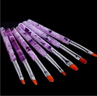 Wholesale Brand New set Acrylic Nail Art Brush Pen Set UV Gel Design H4573