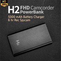 5000mAh mini cámara móvil banco de energía HD DV SPY 1080p videocámara incorporado 32 GB Espia Micro visión nocturna de vídeo grabadora portátil oculta cámara