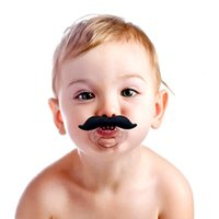 Wholesale Wacky beard pacifier The silicone play mouth Real breastfeeding Lips funny gifts for children Four types are optional