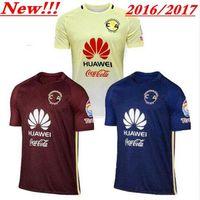 Wholesale 2016 soccer Jerseys club merica Centennial yellow blue commemorate Camiseta de futbol shirt