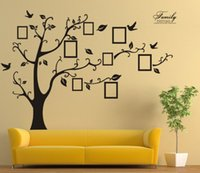 american records - XL Large Black Vinyl Wall Stickers Record Forever Memory Tree Original PVC Creative Hot Selling Wall Decals Home Decoration