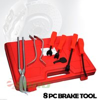 adjusting drum brakes - 8pc Brake Drum Pliers Adjust Spoons Heat treated steel Brake Spring Installer Removal Retaining Chrome plated