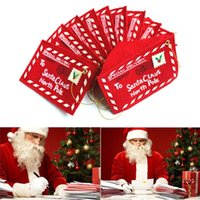 Wholesale 2017 Christmas decorations Christmas tree widget Christmas non woven envelope The bag can put candy Christmas CARDS