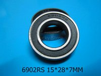 Wholesale 6902RS bearing Rubber sealed bearing Thin wall bearing RS mm chrome steel deep groove bearing