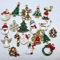 aa supply - Metal alloy Mix Christmas Sets charm For Holiday Decoration christmas decoration supplies christmas decoration AA