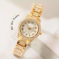 Cheap Top Luxury Brand Women Watches Lady Quartz Analog Elegant Watch Metal Alloy Band Rhinestones Wrist Watches for Girls