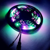 addressable tv - DC5V M WS2801 Addressable LED Strip Arduino development ambilight TV leds m RGB mm led Magic Dream Color Rope Light