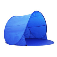 Wholesale 2016 Summer Hiking Tents Outdoors Camping Shelters for People UV Protection Tent for Beach Travel Lawn Family Party