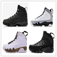 Zapatos de baloncesto de los hombres de aire retro 9 El hombre salta Nueva Ejecución de las zapatillas de deporte de las ventas calientes del envío de la alta calidad