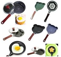 Wholesale Fedex breakfast omelette pan kt love smiley omelette device frying pan pancake pan